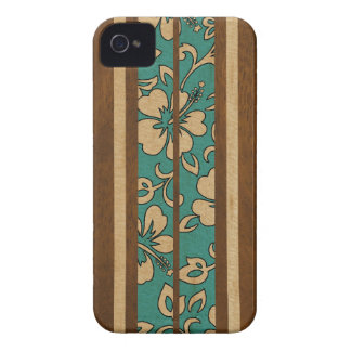 Pupukea Vintage Hawaiian Surfboard iPhone 4 Cases iPhone 4 Case