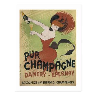 Pur Champán, Damery-Epernay Tarjeta Postal