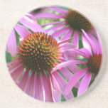 PUR-polarize Flower Beverage Coasters