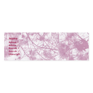 PUR-polarize Seeds - Businesses Card/visiting card Mini Business Card