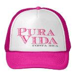 Pura rosado Vida Costa Rica de las mujeres Gorro