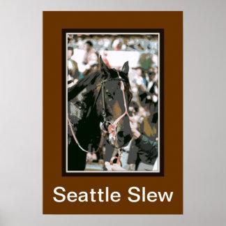 Pura sangre 1978 de la ciénaga de Seattle Póster