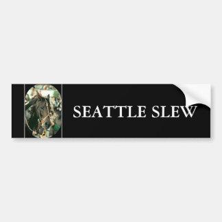 Pura sangre 1978 de la ciénaga de Seattle Pegatina Para Auto