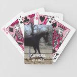 Pura sangre - vaquera - occidental baraja cartas de poker