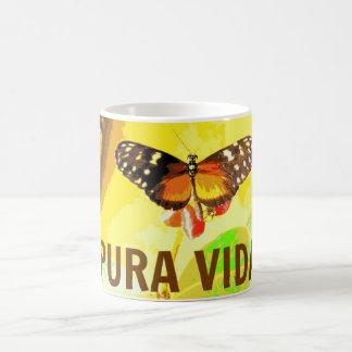 Pura Vida Butterfly Costa Rica Souvenir Mug