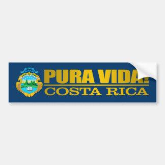 Pura Vida! Costa Rica Bumper Sticker