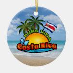Pura Vida Costa Rica Ornaments Para Arbol De Navidad