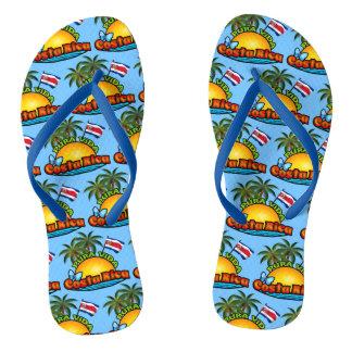 Pura Vida Costa Rica Flip Flops