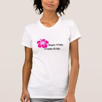 Pura Vida Costa Rica Hibiscus shirt