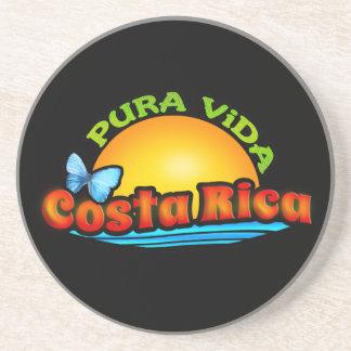 Pura Vida Costa Rica Posavasos Manualidades
