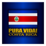 ¡Pura Vida! Costa Rica Póster