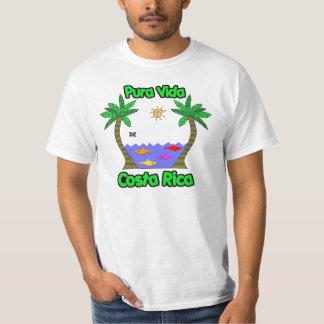 Pura Vida Costa Rica T Shirt