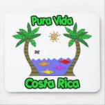 Pura Vida Costa Rica Tapete De Ratones