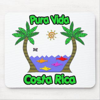 Pura Vida Costa Rica Tapetes De Ratones
