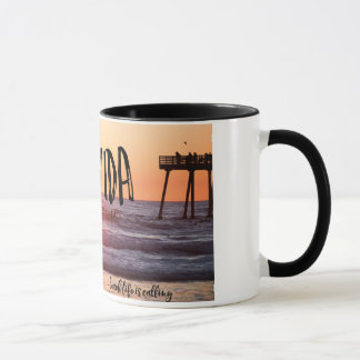 Pura Vida Ocean Beach Sunset Photo Coffee Mug
