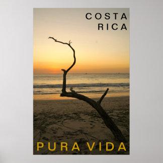 PURA VIDA Playa Flamingo Posters