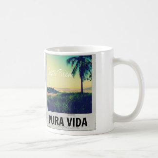 Pura Vida Polaroid Costa Rica Souvenir Mug