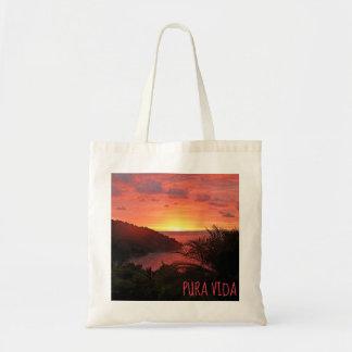 Pura Vida Sunset Sizzle II Poster Tote Bag