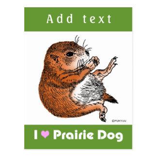 purairie dog postcard