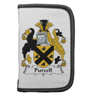 Purcell Family Crest Folio Planner