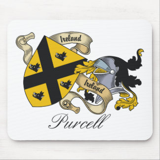 Purcell Family Crest Mouse Mat