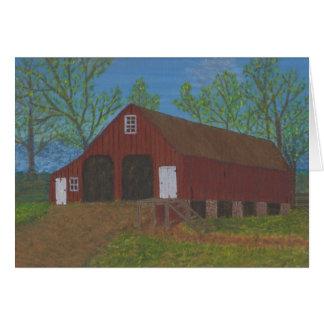Purcellville Barn Card