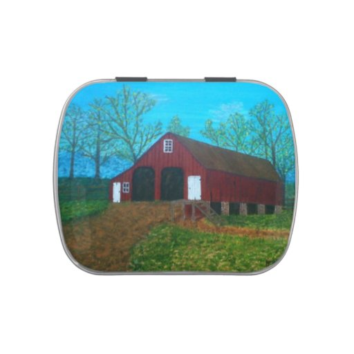 Purcellville Barn Jelly Belly Candy Tin