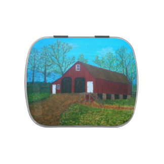 Purcellville Barn Jelly Belly Tin