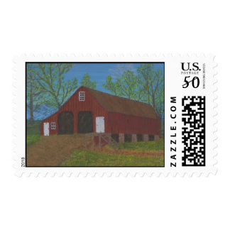 Purcellville Barn Postage