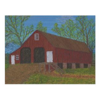 Purcellville Barn Postcard