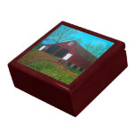 Purcellville Red Barn Keepsake Boxes