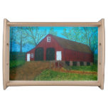 Purcellville Red Barn Service Tray