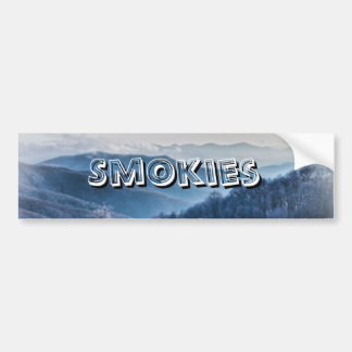 Purchase Knob Winter Scenic View Bumper Sticker