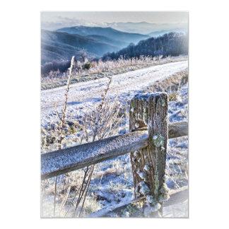 Purchase Knob Winter Scenic View 5x7 Paper Invitation Card