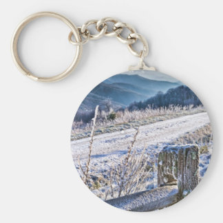 Purchase Knob Winter Scenic View Keychain