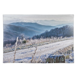 Purchase Knob Winter Scenic View Placemat