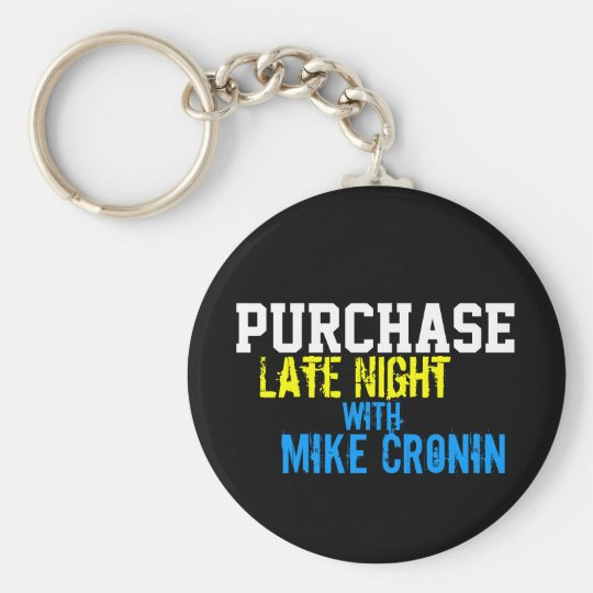 Purchase Late Night Circle Keychain