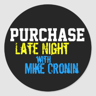 Purchase Late Night Circle Stickers