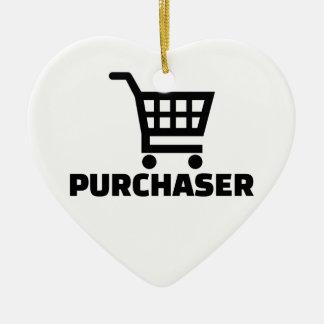 Purchaser Ceramic Ornament