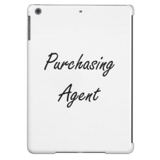 Purchasing Agent Artistic Job Design iPad Air Covers