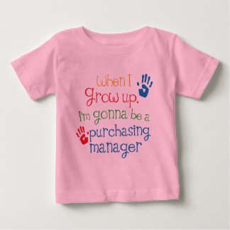 Purchasing Manager (Future) Child Baby T-Shirt