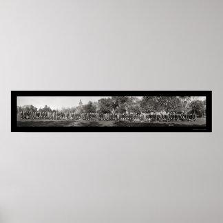 Purdue Freshmen Photo 1914 Poster