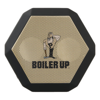 Purdue University   Boiler Up Purdue Pete Black Bluetooth Speaker