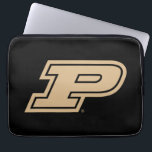 "Purdue University | Gold Motion P Mark Computer Sleeve<br><div class=""desc"">Check out these new Purdue University designs! Show off your Purdue Boilermaker pride with these new Purdue University products. These make perfect gifts for the Boilermakers student, alumni, family, friend or fan in your life. All of these Zazzle products are customizable with your name, class year, or club. Go Boilermakers!...</div>"