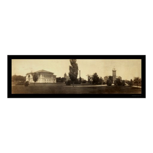 Purdue University IN Photo 1904 Posters