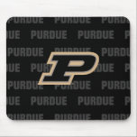 "Purdue University | Primary Logo Watermark Mouse Pad<br><div class=""desc"">Check out these new Purdue University designs! Show off your Purdue Boilermaker pride with these new Purdue University products. These make perfect gifts for the Boilermakers student, alumni, family, friend or fan in your life. All of these Zazzle products are customizable with your name, class year, or club. Go Boilermakers!...</div>"