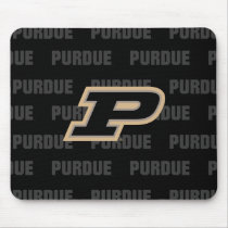 Purdue University | Primary Logo Watermark Mouse Pad