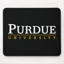 Purdue University Signature Mark Mouse Pad
