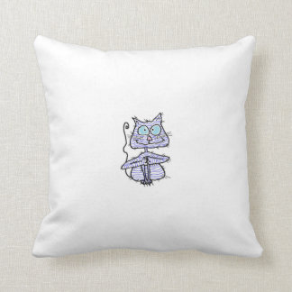 PURDY SKCAT:  PILLOWS by  Susan McGraw Keber