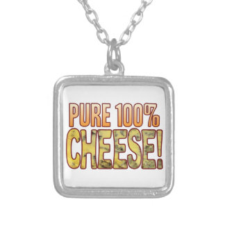 Pure 100 Blue Cheese Silver Plated Necklace
